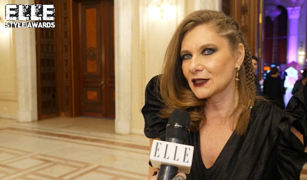 Romanița Iovan la ELLE Style Awards 2019, despre modă și stil vestimentar (VIDEO)
