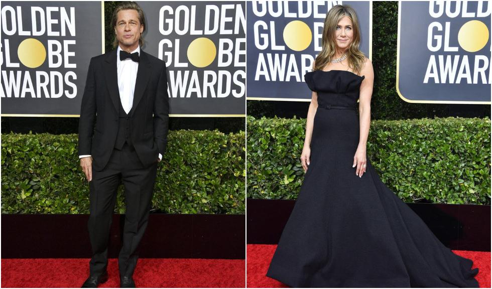 Brad Pitt a avut un discurs amuzant la Globurile de Aur 2020, iar reacția lui Jennifer Aniston a fost pe măsură