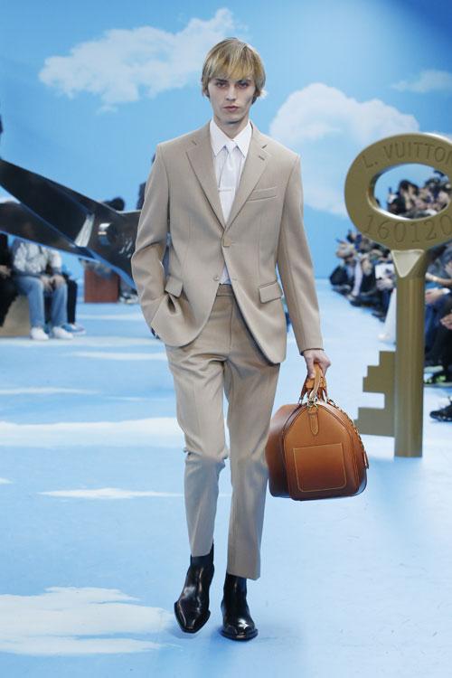 Virgil Abloh divorțează de streetwear în colecția Louis Vuitton Men fall-winter 2020