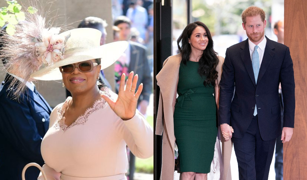 """Oprah Winfrey a declarat că îi sprijină pe Meghan Markle și Prințul Harry în deciziile lor """"1.000%"""""""