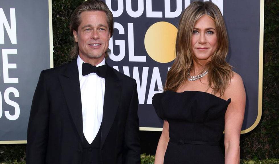 Brad Pitt și Jennifer Aniston, împreună și după decernarea Globurilor de Aur
