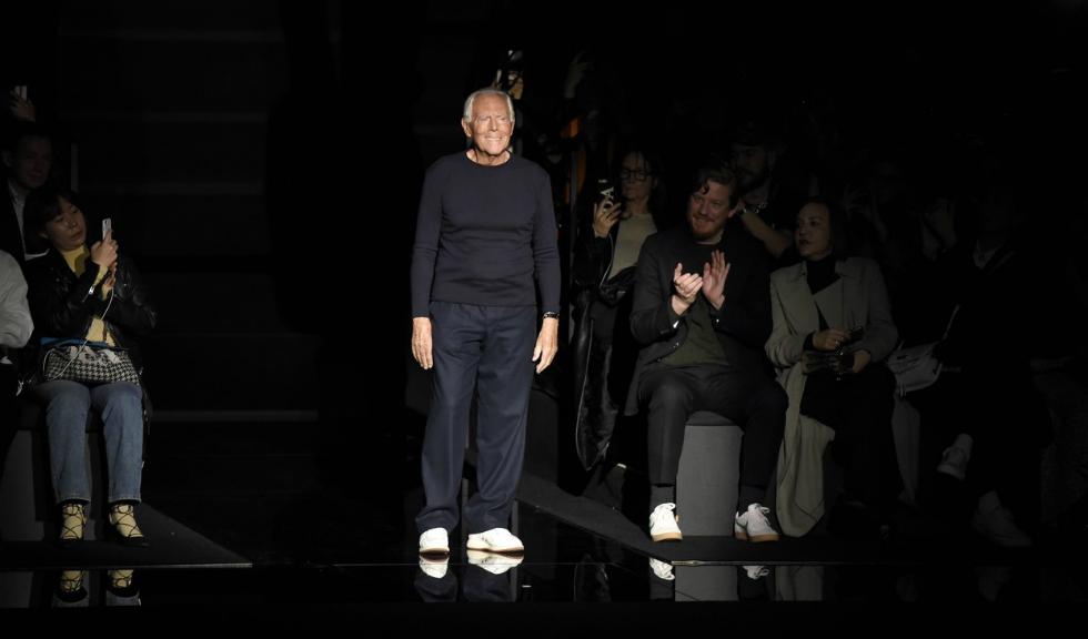 Giorgio Armani anulează show-ul din cadrul Săptămânii Modei de la Milano din cauza coronavirusului