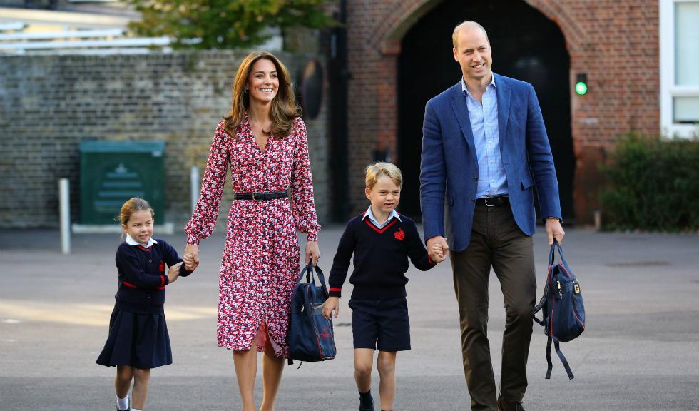 Prințul George și Prințesa Charlotte s-au întors din vacanță