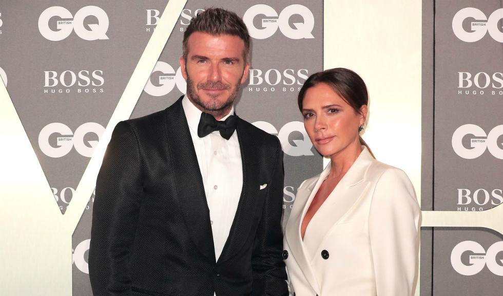 Victoria Beckham îl surprinde pe David Beckham într-un moment amuzant