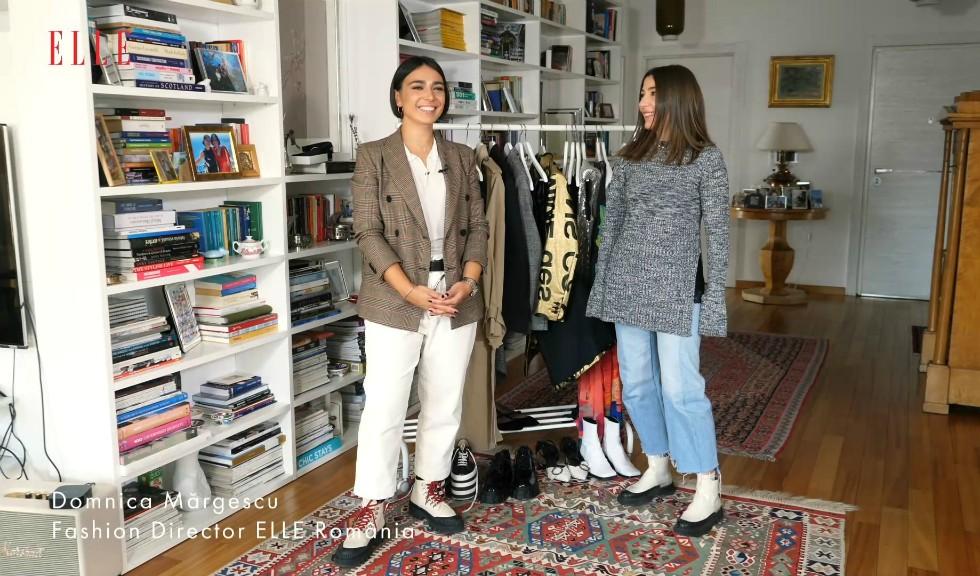 #ELLETeam: Cum porți tricoul rock din paiete în două feluri diferite, cu Domnica Mărgescu și Cristina Crăciun (VIDEO)