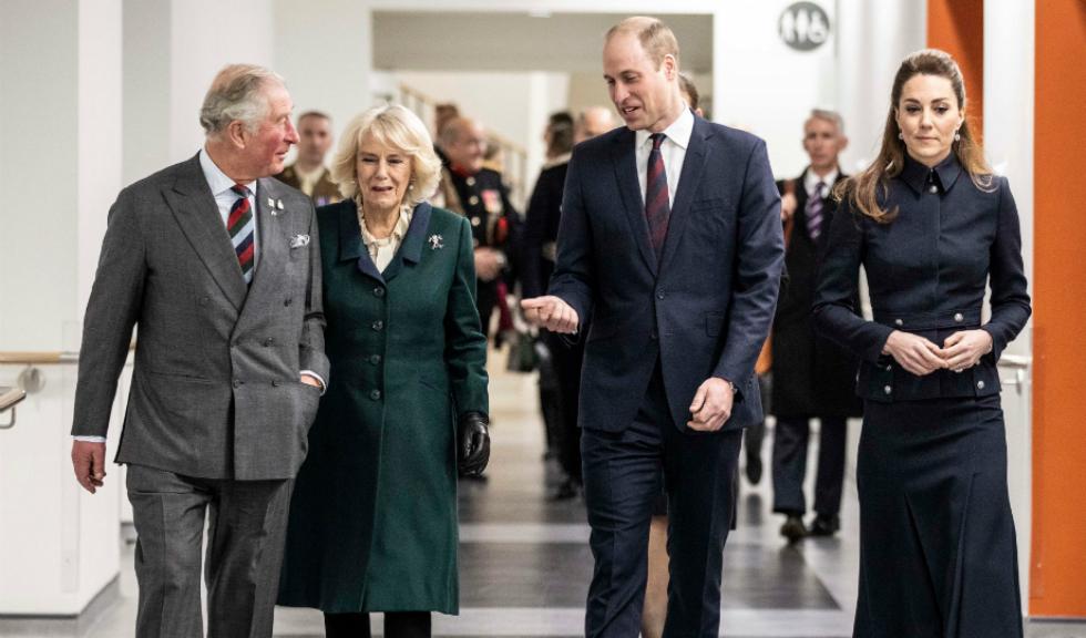 Prințul William a făcut o glumă surprinzătoare în fața tatălui său, Prințul Charles
