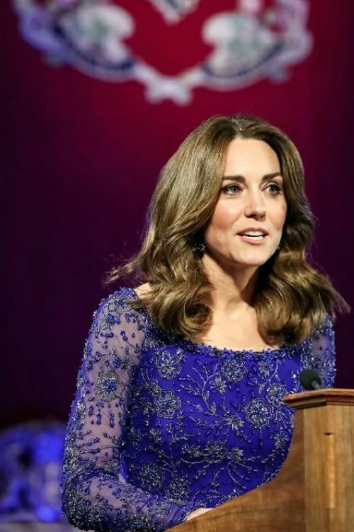 Kate Middleton, apariție spectaculoasă la o recepție organizată la Palatul Buckingham