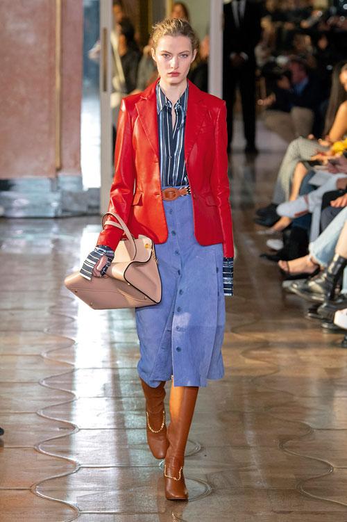 Tendințe fashion primăvară-vară 2020: Piele colorată