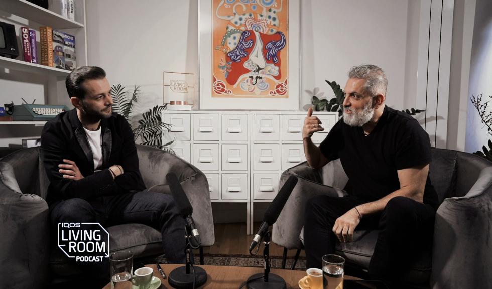 Mihai Morar, moderator IQOS Living Room Podcast: Acasă nu este neapărat un loc, ci un feeling, iar sufrageria mi se pare cel mai sincer spațiu de socializare