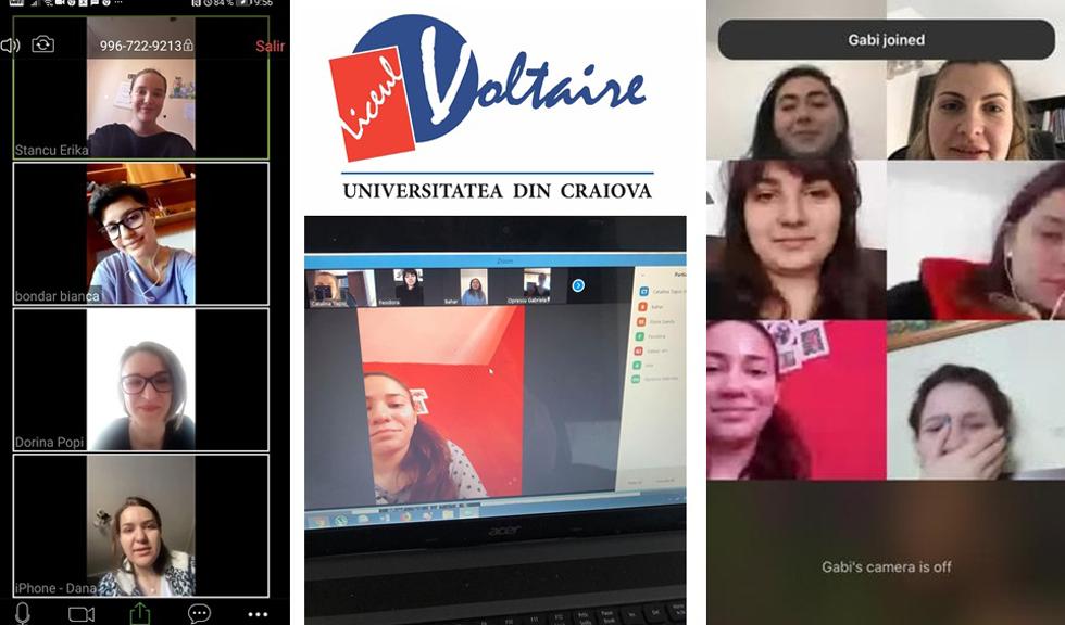 Lecția emoționantă de responsabilitate pe care o dau elevii de la Liceul Voltaire din Craiova