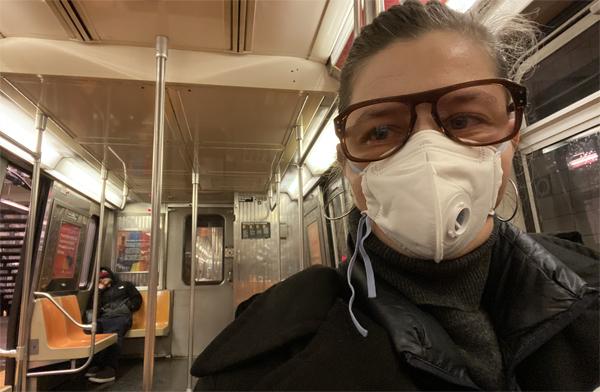Daniela Groza despre coronavirus, panică și speranță la New York