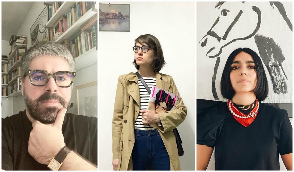 LIVE Din izolare la domiciliu: Domnica, Maurice și Ioana Ulmeanu vorbesc despre ediția de mai a revistei ELLE