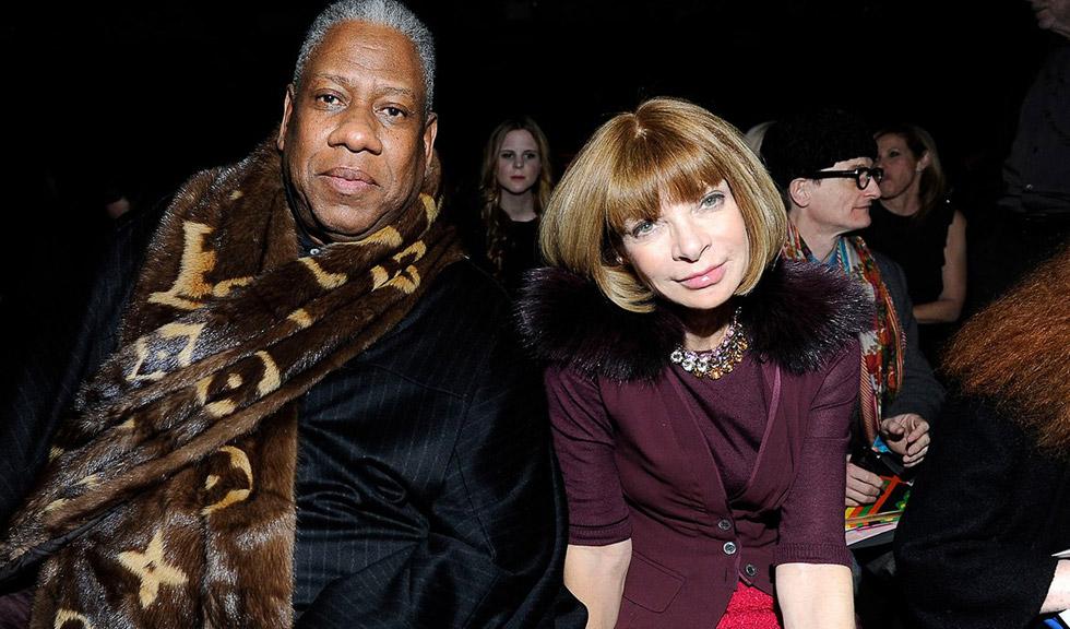 """André Leon Talley, fostul editor Vogue, o critică dur pe Anna Wintour: """"Este imună la orice, în afară de oamenii puternici și faimoși"""""""