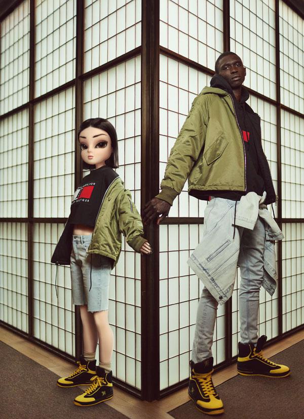 Editorial fashion: Noonoouri, regina digitală