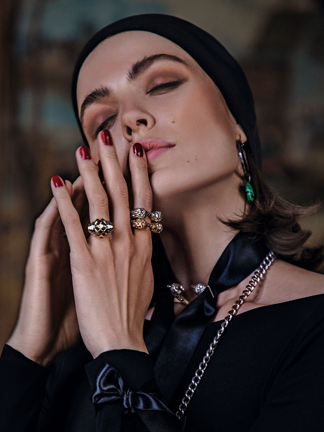 Editorial fashion: In the mood for love