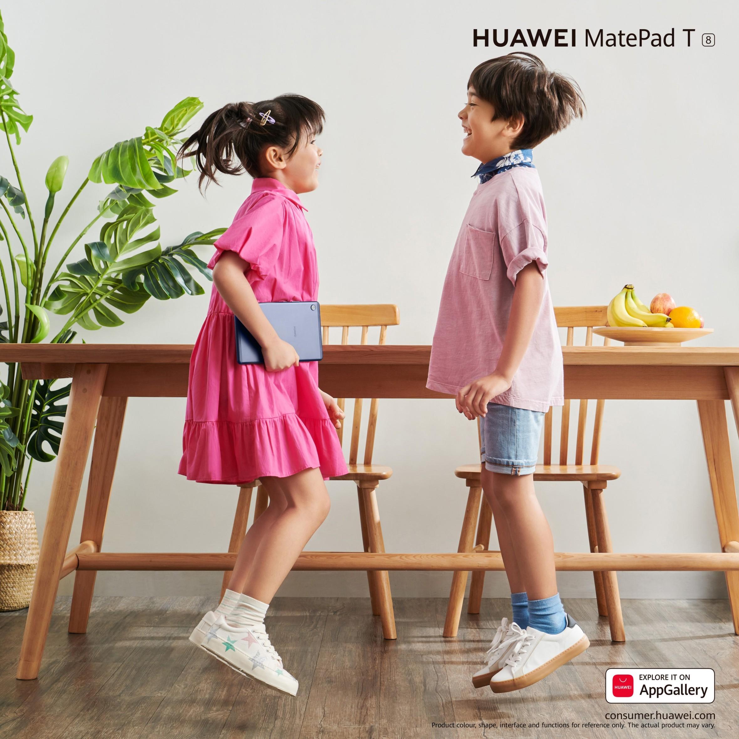 Inspirație pentru cadoul perfect de 1 Iunie: posibilități nelimitate pentru copii cu noile telefoane Huawei Seria Y și tableta MatePad T8