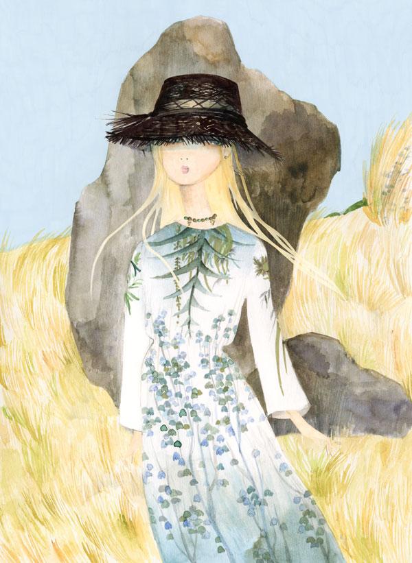 Fashion special: Rochii fabuloase și ilustrații de excepție