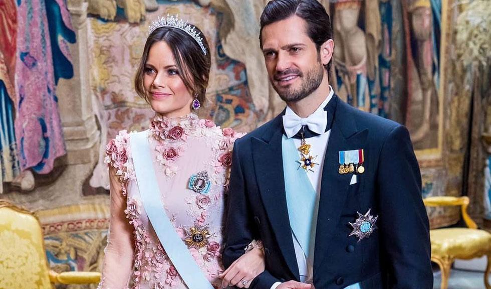 Imagini inedite cu Prințul Carl Philip și Prințesa Sofia a Suediei, publicate pentru prima dată