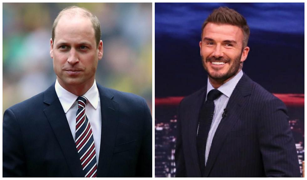Prințul William a vorbit cu David Beckham și alți sportivi despre importanța sănătății mintale