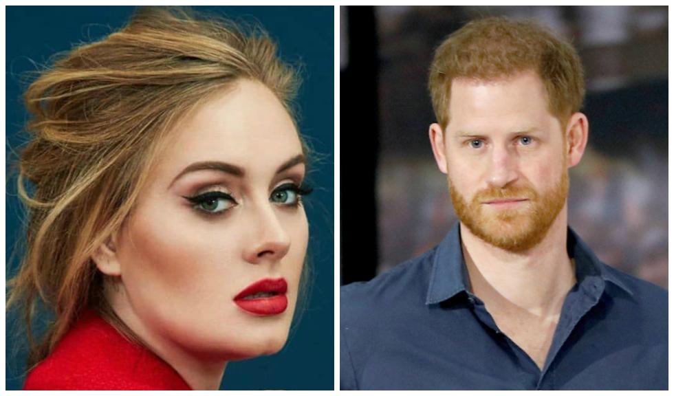 Prințul Harry și Adele par să aibă o relație extrem de apropiată