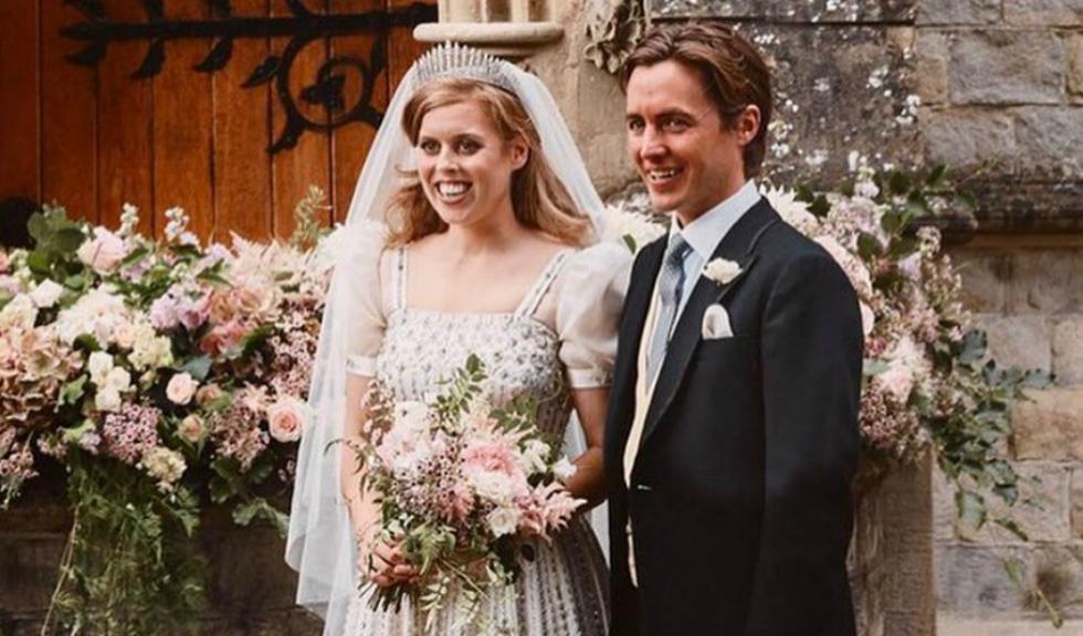 Fotografiile oficiale de la nunta Prințesei Beatrice cu Edoardo Mapelli Mozzi