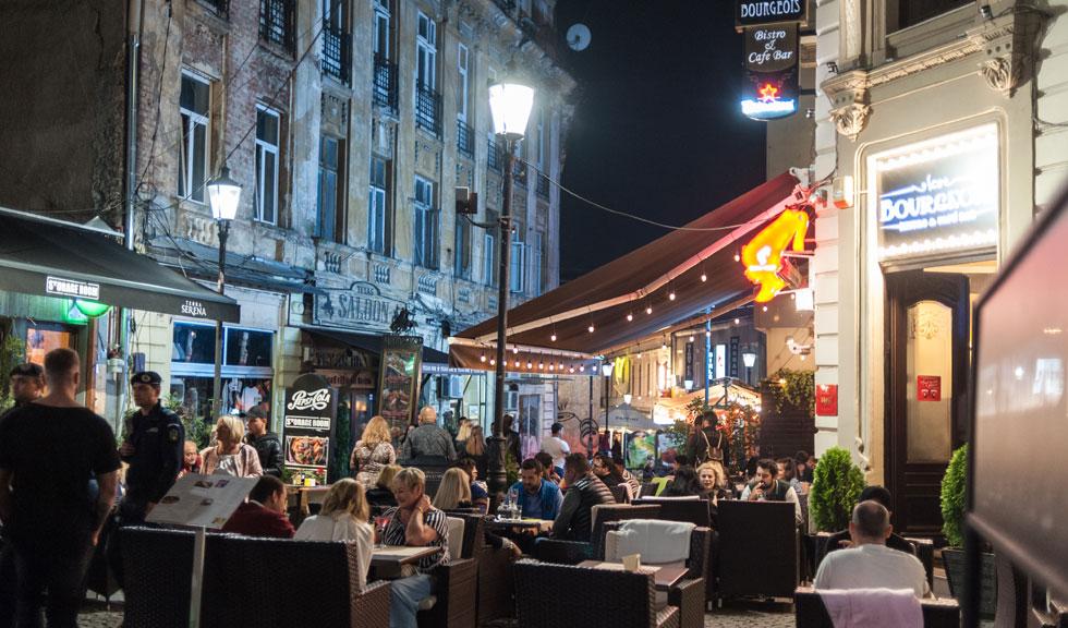 Noi reguli pentru terasele din Centrul Vechi al Bucureștiului