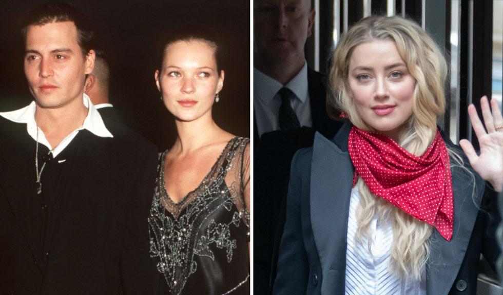 """Amber Heard continuă cu declarațiile explozive în instanță: """"Depp a împins-o pe Kate Moss pe scări!"""""""