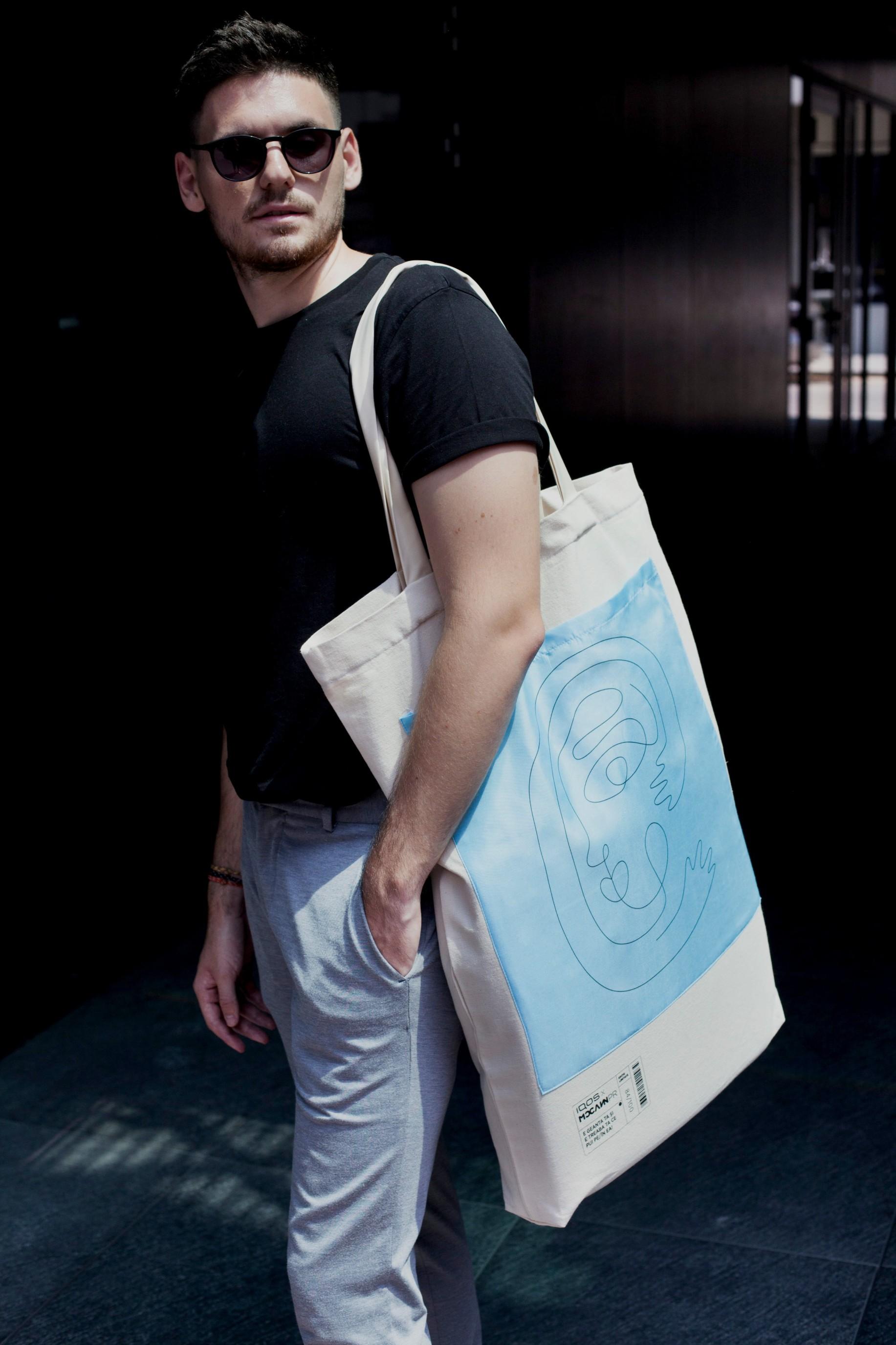 IQOS x McCann PR lansează o geantă în ediție limitată,  inspirată de noul dispozitiv