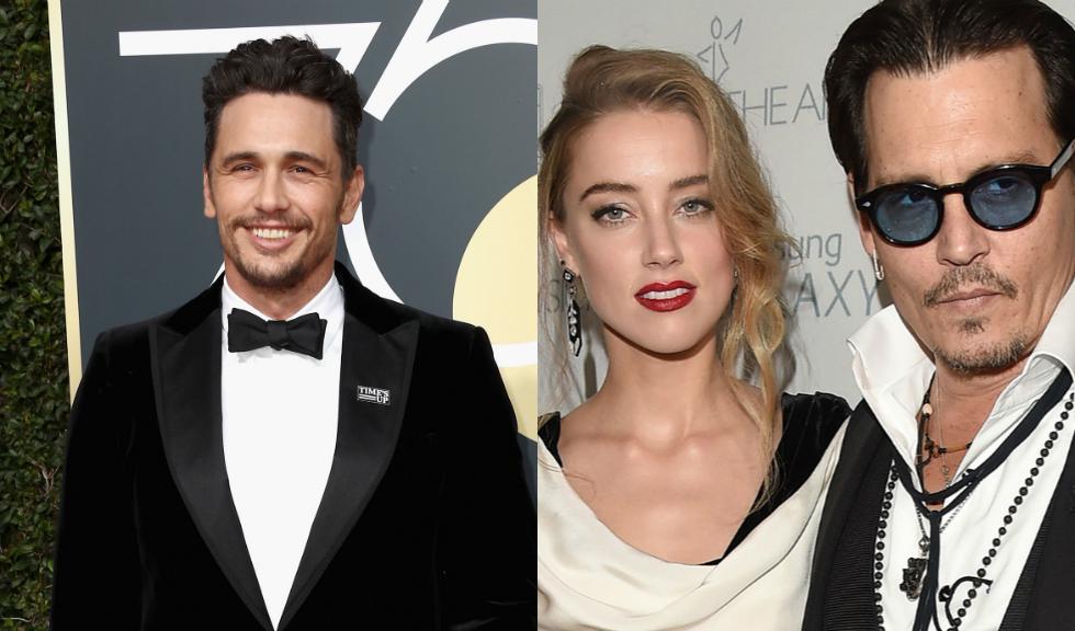 Johnny Depp susține că James Franco ar fi agresat-o sexual pe Amber Heard