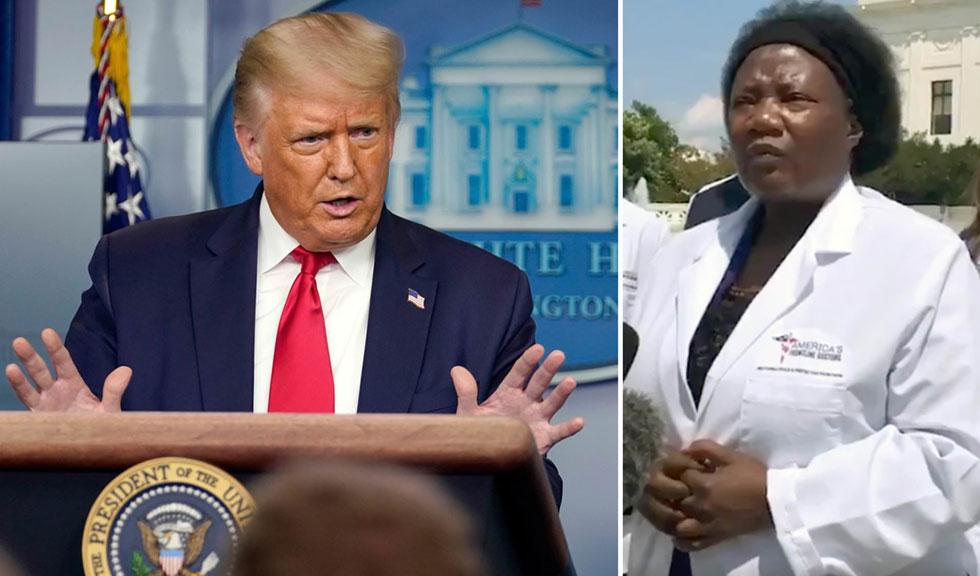 Noul medic preferat al lui Donald Trump crede în ADN extraterestru, sex cu demoni și tratament cu hidroxiclorochina împotriva COVID-19
