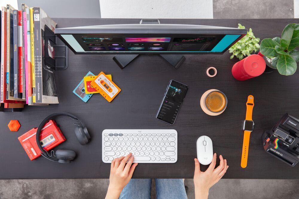 (P) Pune-ți amprenta pe spațiul în care lucrezi cu Logitech!