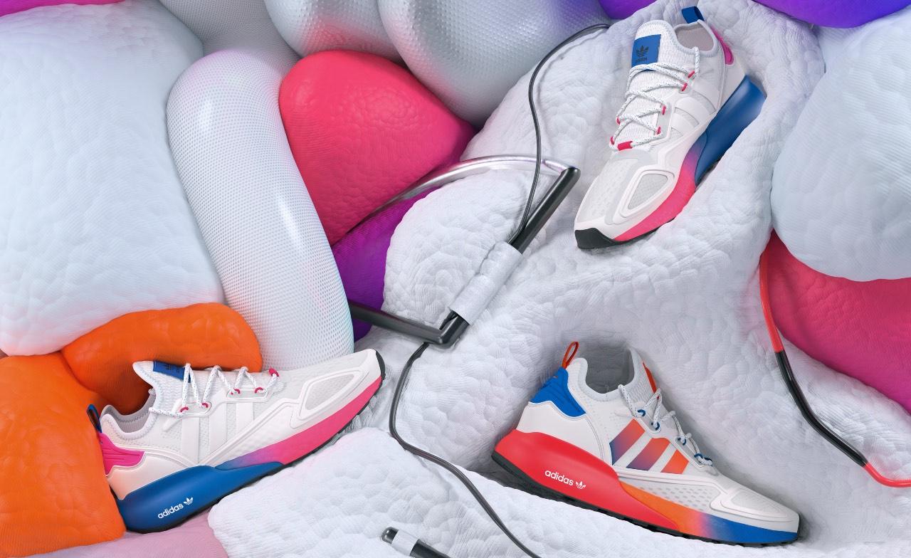 (P) Noul Adidas ZX 2K Boost: seria care a făcut istorie are parte de o reinterpretare fresh