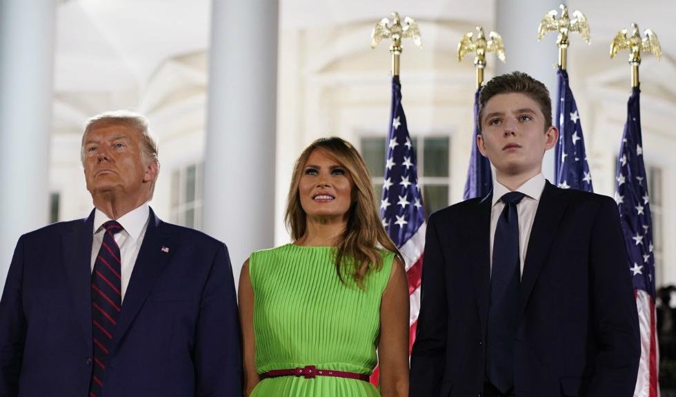 Melania Trump vorbește despre experiența ei cu Covid-19 și dezvăluie că fiul ei, Barron, a fost și el testat pozitiv cu coronavirus