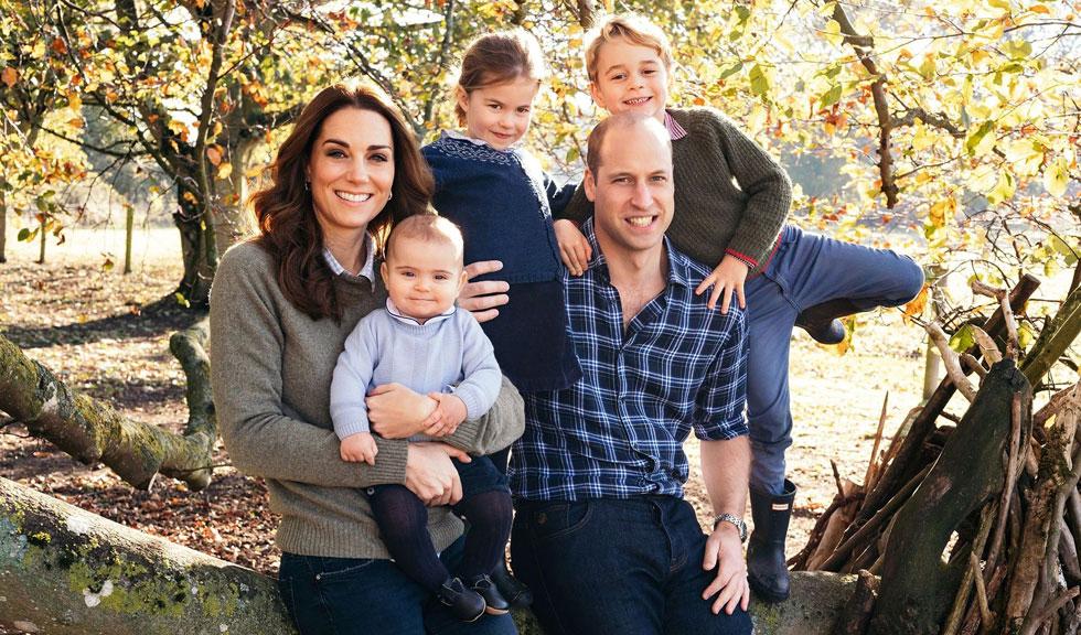Prințul William și Kate Middleton au publicat un videoclip adorabil cu copiii lor