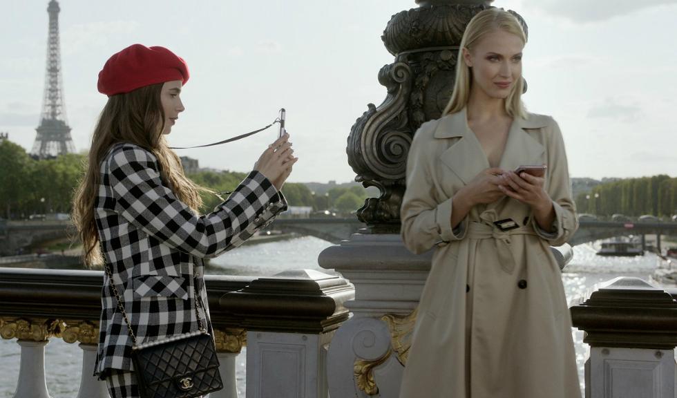 """Cine este Alexandrina Țurcan, modelul care a defilat nud în serialul """"Emily in Paris"""""""