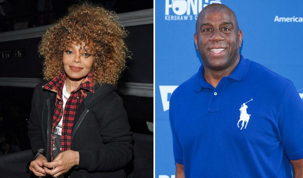 Imagini virale cu Magic Johnson sărutând-o pe Janet Jackson