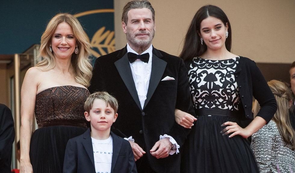 John Travolta a postat o fotografie emoționantă cu copiii lui de când erau mici
