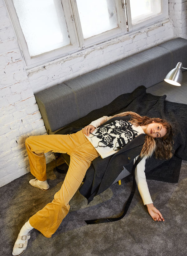 Editorial fashion: The Art Of Doing Nothing