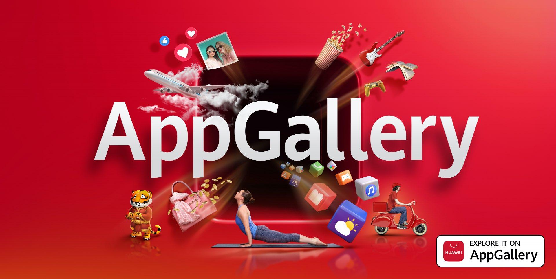 (P) Magazinul HUAWEI AppGallery, calea ta spre cele mai populare aplicații