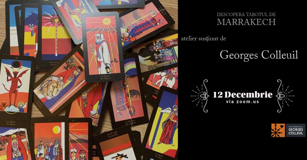 (P) ReIMAGINE HUB – Descoperă Tarotul de Marrakech!