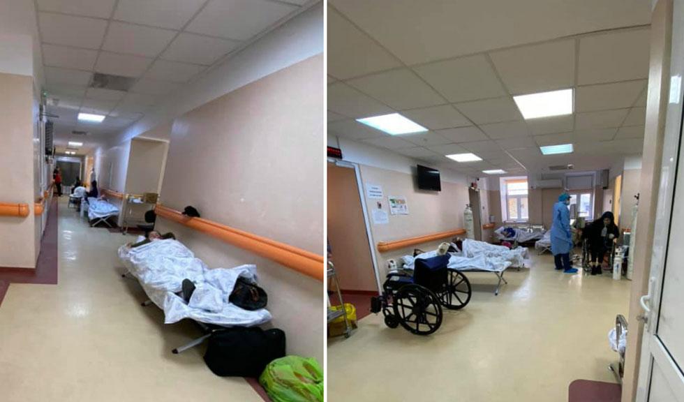 Bolnavii de Covid-19, tratați pe holurile de la Matei Balș. Explicațiile medicului Adrian Marinescu
