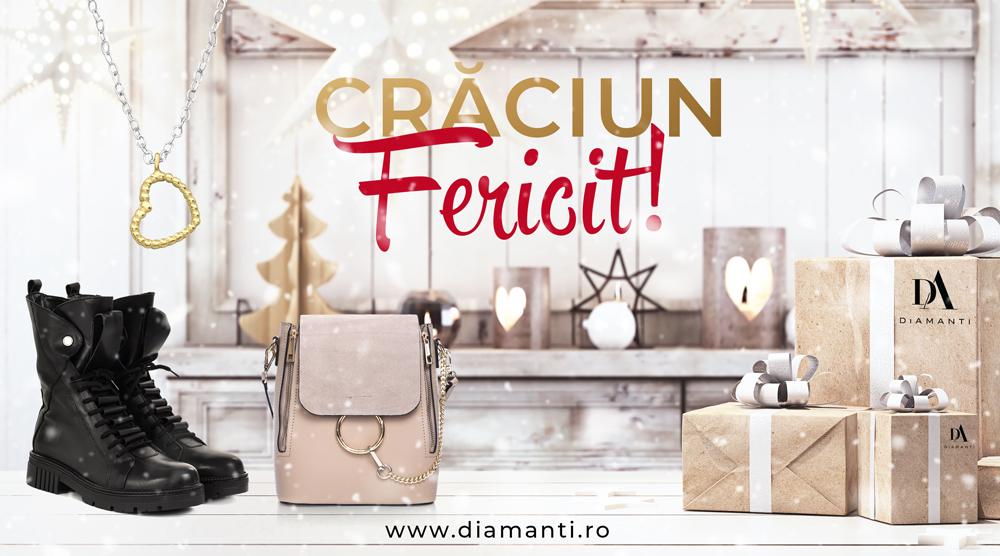 (P) DiAmanti.ro vă urează Crăciun Fericit și un An Nou plin de bucurii
