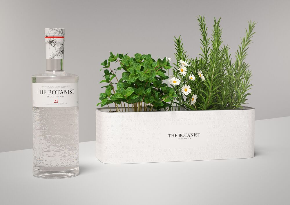 (P) Ambalaj regândit cu noul pachet cadou The Botanist