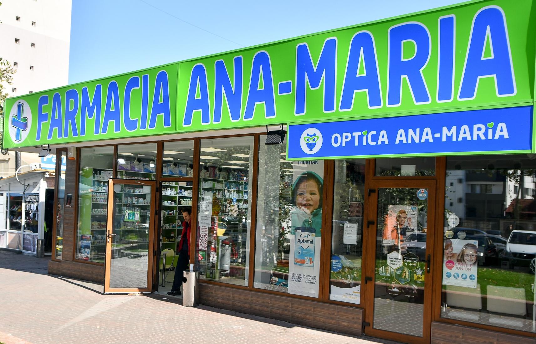 (P) Farmacia Ana Maria – locul unde Bucureștenii scapă de problemele lor de sănătate