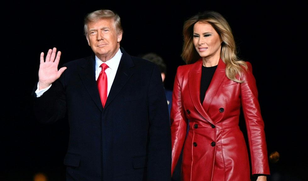 Donald și Melania Trump, ultimul portret oficial de Crăciun