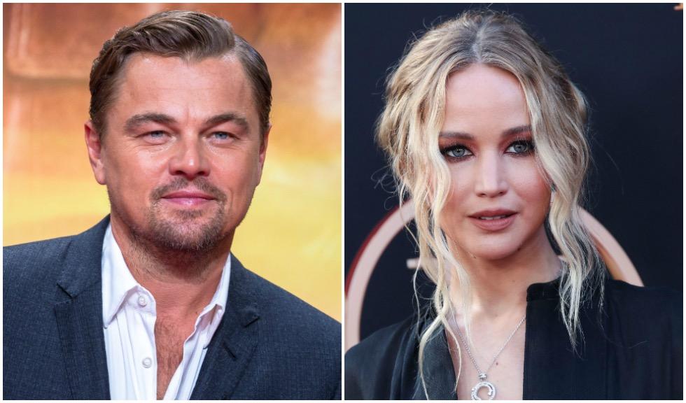 Jennifer Lawrence și Leonardo DiCaprio, de nerecunoscut pe platourile de filmare