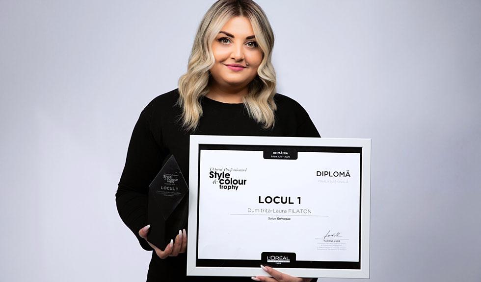 (P) Competiția Style & Colour Trophy 2020 organizată de L'Oréal Professionnel  şi-a desemnat câştigătorii!