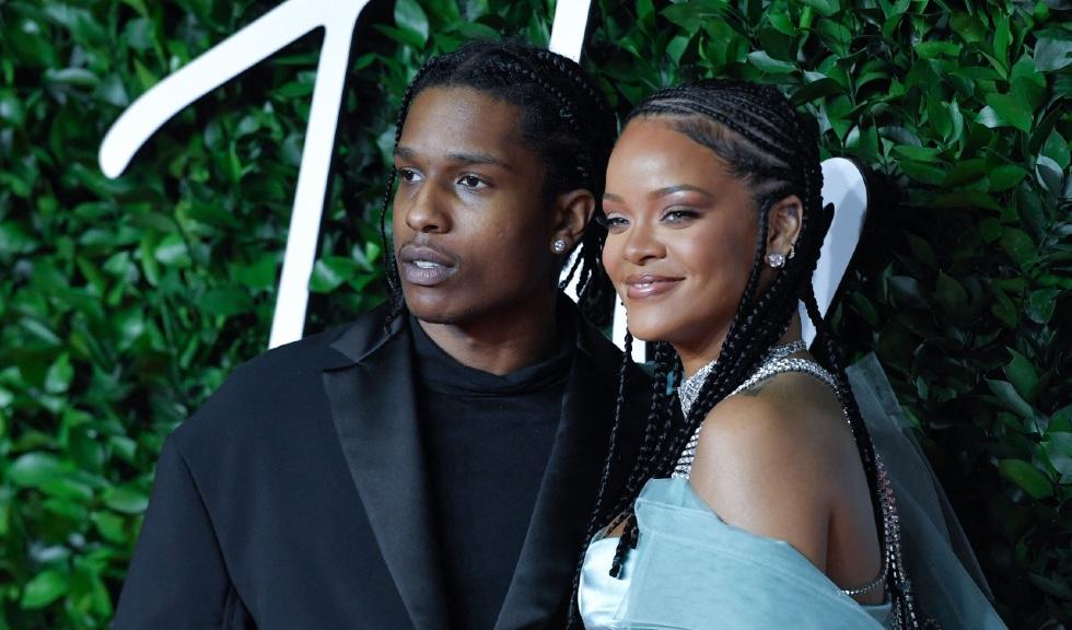 Rihanna și A$AP Rocky formează un cuplu