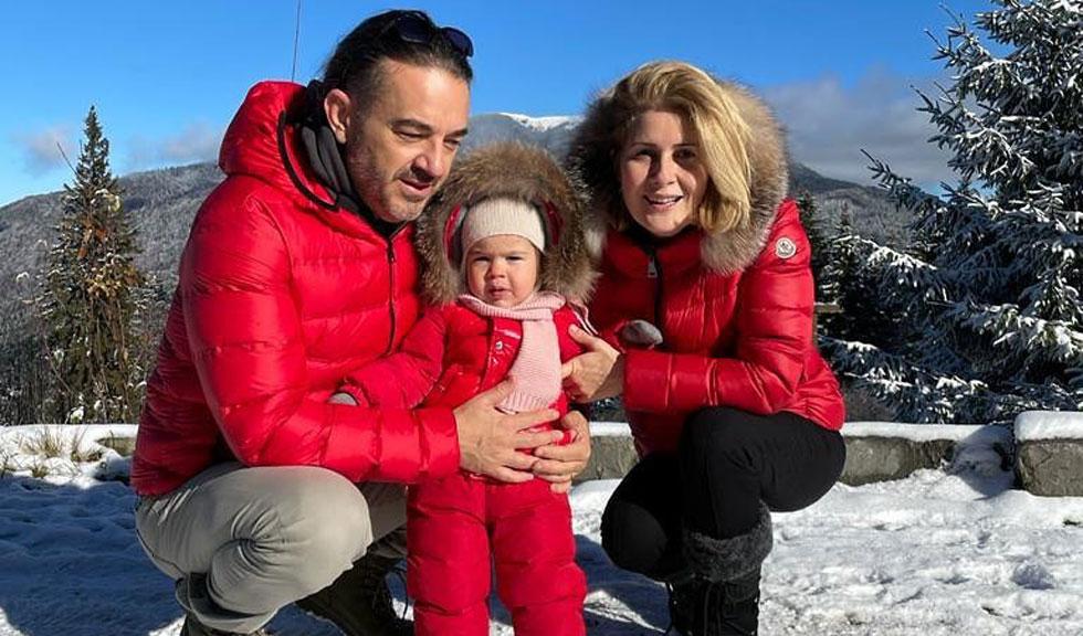 Fiica Alessandrei Stoicescu are COVID-19! Cum se simte micuța Sara, în vârstă de 1 an și 5 luni