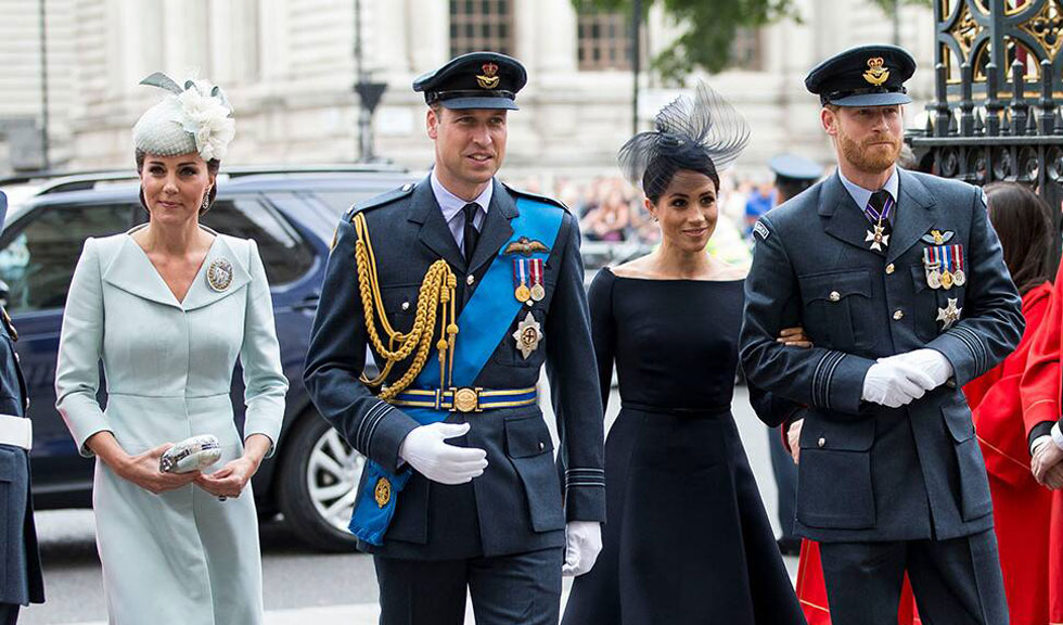 Prințul William și Kate Middleton îi vor vizita pe Harry și Meghan în America